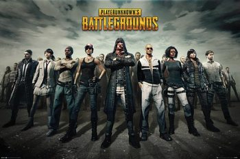 Plagát  PUBG - Group
