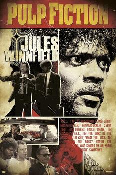 Plagát Pulp Fiction: Historky z podsvetia - Jules Winnfield