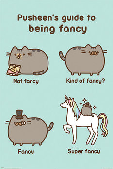 Plagát  Pusheen - Super Fancy