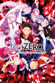 Plagát  Re: ZERO - Key Art