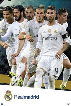 Plagát Real Madrid 2015/2016 - Grupo accion