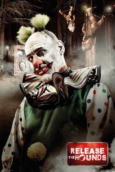 Plagát Release the Hounds - Clown