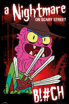 Plagát Rick & Morty - Scary Terry