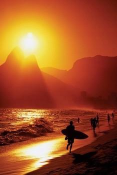 Plagát Rio de Janeiro - ipanema Beach