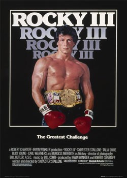 Plagát  ROCKY III - one sheet