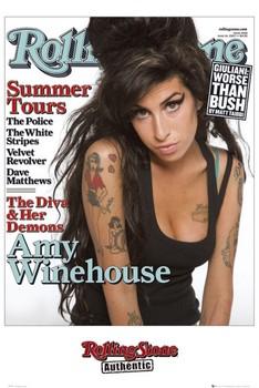 Plagát Rolling Stone - Amy Winehouse