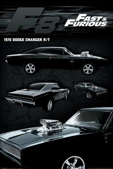 Plagát Rýchli a zbesilí - Dodge Charger