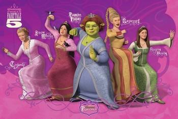 Plagát Shrek 3 - princess