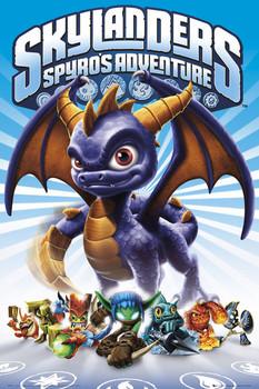 Plagát Skylanders Spyro