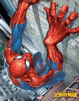 Plagát SPIDER-MAN - climbing