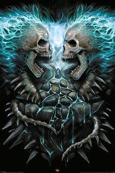 Plagát Spiral - Flaming Spine