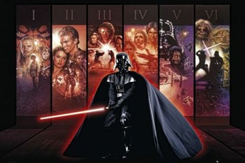 Plagát STAR WARS - anthology