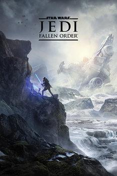 Plagát Star Wars: Jedi Fallen Order - Landscape