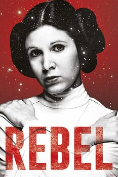 Plagát Star Wars - Leia