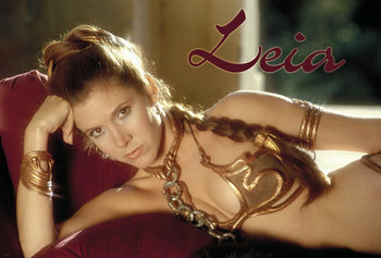 Plagát  Star Wars - Princess Leia
