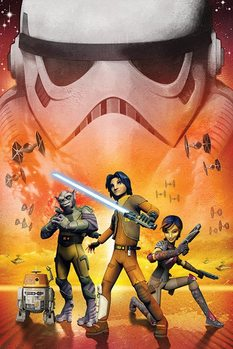 Plagát Star Wars Rebels - Empire