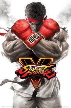 Plagát Street Fighter 5 - Ryu Key Art