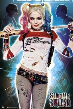 Plagát Suicide Squad - Harley Quinn - Daddy's Lil Monster