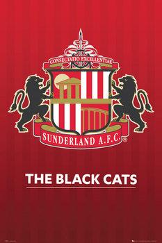 Plagát Sunderland AFC - Crest