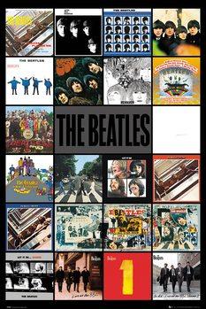 Plagát The Beatles - Albums
