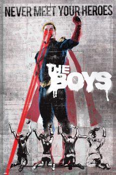 Plagát The Boys - Never Meet Your Heroes