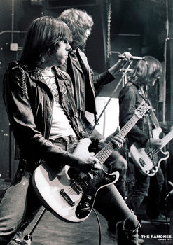 Plagát  The Ramones - C.B.G.B.'S NYC 1977