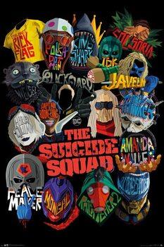 Plagát The Suicide Squad - Icons