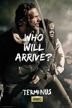 Plagát The Walking Dead - Rick and Michonne Survive