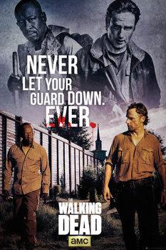Plagát The Walking Dead - Rick and Morgan