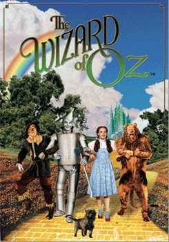 3D Plagát THE WIZARD OF OZ