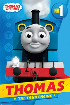 Plagát  Thomas & Friends - Thomas the Tank Engine
