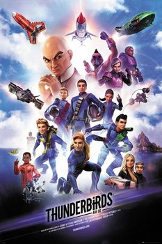 Plagát Thunderbirds Are Go - Keyart