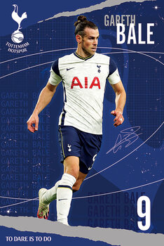 Plagát Tottenham Hotspur FC - Bale
