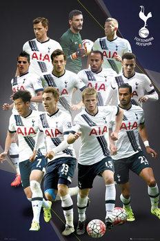 Plagát Tottenham Hotspur FC - Players 15/16