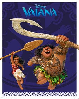 Plagát Vaiana - Action