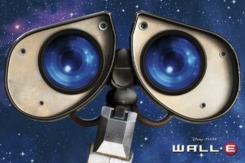 Plagát WALL-E - oči