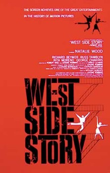 Plagát WEST SIDE STORY - red