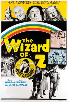 Plagát  WIZARD OF OZ - rainbow