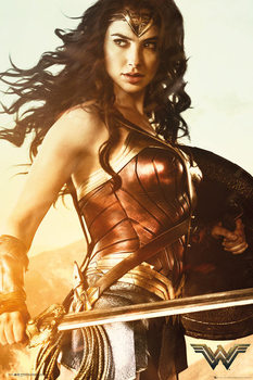 Plagát Wonder Woman - Sword