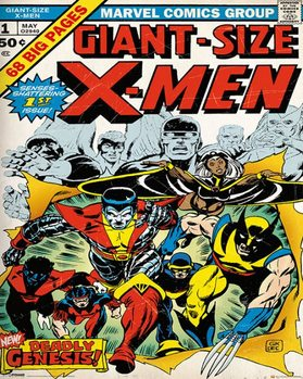 Plagát X-MEN - cover