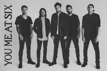 Plagát You Me At Six - Band