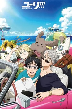 Plagát Yuri On Ice - Car