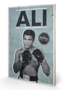 MUHAMMAD ALI - greatest  plakát fatáblán