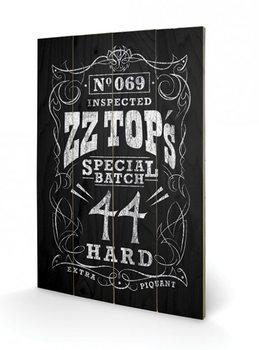 ZZ Top - Special Batch plakát fatáblán