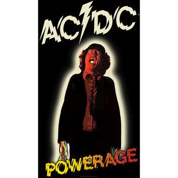Plakat z materiału AC/DC – Powerage
