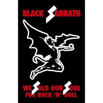 Plakat z materiału  Black Sabbath - We Sold Our Souls