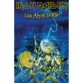 Plakat z materiału  Iron Maiden - Live After Death