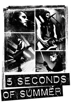5 Seconds of Summer - Photo Block Plakater