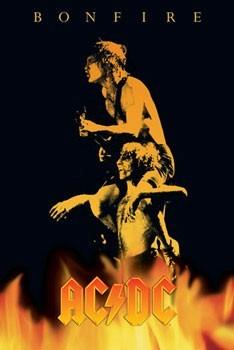 AC/DC - bonfire Plakat