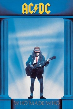 AC/DC - who made who Plakat